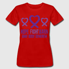 heart ribbon lewy dementia heart ribbon t shirt spreadshirt