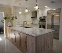 what is the best wood for white kitchen cabinets white kitchen with driftwood peninsula home bunch interior