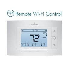 emerson sensi wi fi programmable thermostat for smart home