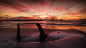 vibrant wallpaper sky glowing vibrant bold dawn blissful red sunshine fiery