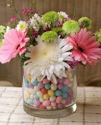 easter flowers in a malted egg vase a scrumptious life