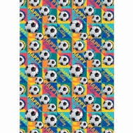 football wrapping paper kids wrapping paper animal faces 3m gift wrap