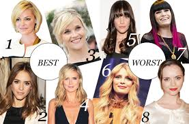 hair styles for head shapes face time best and worst hairstyles for your face shape stylecaster