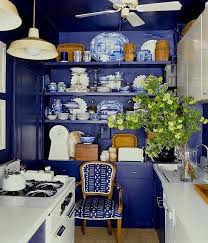 Blue And White Kitchen 446 Best Blue And White Interiors Images On Pinterest Blue And
