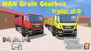man grain gearbox u0026 trailer v1 0 mod for farming simulator 2015