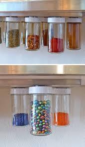 diy kitchen organization ideas diy hanging magnetic spice racks diy kitchen storage ideas for
