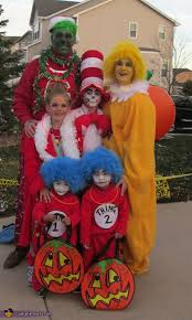 Dr Seuss Characters Halloween Costumes Dr Seuss Characters Family Costume Photo 3 10