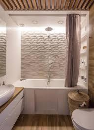 revetement mural bois carrelage mural salle de bain panneaux 3d et mosaïques