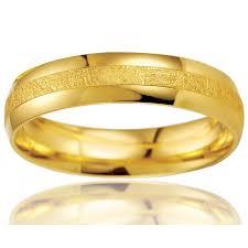 alliance en or alliance or jaune breuning modèle clyde pour homme