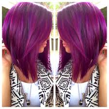70 devastatingly cool haircuts for thin hair purple hair