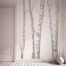 aspen forest birch wall decals removable amazing interior design silver vinyl birch wall decals this adorable handmade premium material unique decoration sticker home nature lighting
