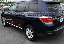2013 toyota highlander limited accessories 2008 toyota highlander ebay