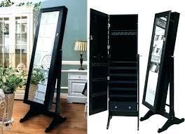 standing mirror jewelry cabinet standing mirror jewelry armoire decoration mirror jewelry free