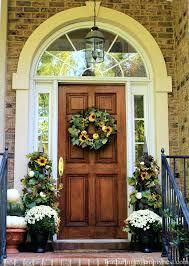 front door beautiful fall front door idea ideas diy front door
