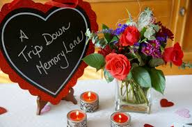a romantic dinner idea a trip down memory lane positively stacey