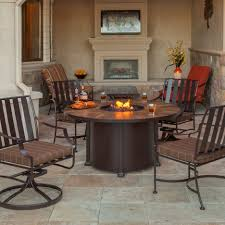 Patio Dining Sets With Fire Pits - dining tables fire pit table top hidden tank fire pits gas fire