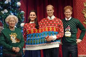 this photo of the royal family in sweaters is