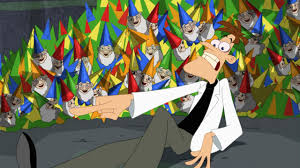 image lawn gnome beach party of terror36 jpg phineas and ferb