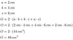 fläche zylinder berechnen geometrie volumen und oberfläche quader zylinder und kugel
