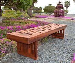 Engraved Garden Benches Redwood Lighthouse Garden Bench Custom Wood Seating