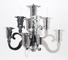 Baroque Chandelier Baroque Acrylic Chandelier Lig38 All Acrylic Baroque Silhouette