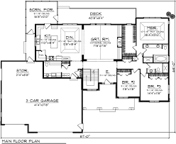 craftsman floorplans house plan 73147 at familyhomeplans com