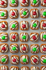 christmas pretzel hugs cooking classy christmas cookie recipes