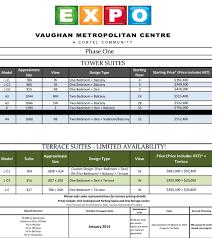 Metropolitan Condo Floor Plan Expo Condominiums Vaughan Metropolitan Centre Condos For Sale Real