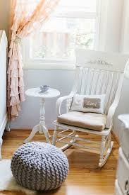 Pink Nursery Rocking Chair Entrancing Pink Rocking Chair For Nursery In Backyard Property Neo