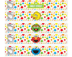 custom printable sesame street birthday coloring sheets 4