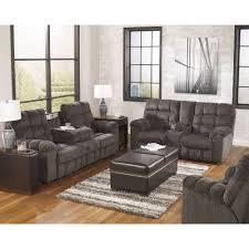 capson brown reclining sofa set reclining living room sets under