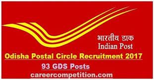 postal circle recruitment 2017 apply for gramin dak sevak 93
