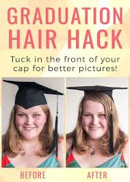 nursing graduation hairstyles with cap 35 graduation hairstyles and 3 hair hacks to achieve them