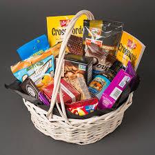 snack basket snack lover s assorted basket in denver co sophisticated blooms