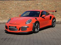 orange porsche 911 gt3 rs used 2016 porsche 911 gt3 rs for sale in the uk gtspirit