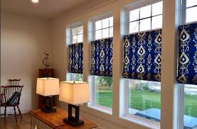 Classic Roman Shades - roman shades add color to an upstate new york homestead the