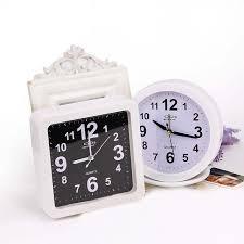 horloge de bureau alarme horloge montre en plastique tableau numérique horloge de
