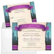 Fairytale Wedding Invitations Party Simplicity Fairytale Wedding Invitation Stationery Designs