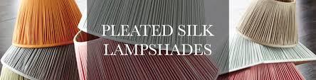 silk lampshades range