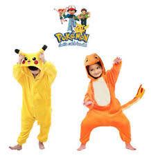 Pikachu Halloween Costume Men Pokemon Costume Ebay