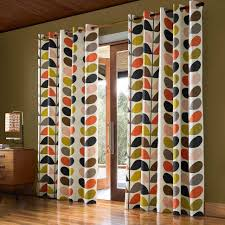 Retro Curtains Curtain Surprising Retro Curtains Ready Made Image Inspirations