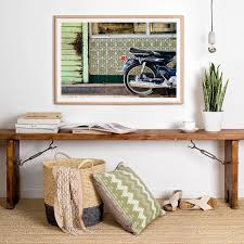 home interior framed creative idea interior decor with brown rustic wood table