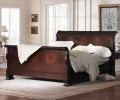 Solid Wood Sleigh Bed Wood Sleigh Bed Collection From Charles P Rogers