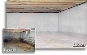 crawl space encapsulation basement waterproofing nashville tennessee