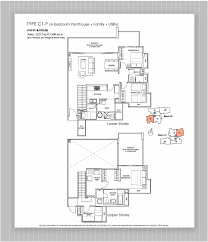 Penthouse Floor Plan by Penthouse 4 Bed Versilia On Haig