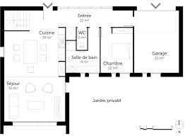 plan maison de plain pied avec mezzanine u2013 ooreka