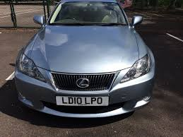 lexus is 220d for sale in yorkshire lexus is220d se i 2010 plate 61700 miles may take part ex in