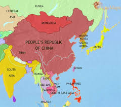 map asia map of east asia china korea japan at 1500bc timemaps