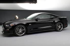 All Black Mustang Roush Introduces Upgrade Kits For 2015 Ford Mustang