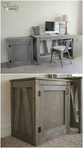 Diy Rustic Desk 50 Decorative Rustic Storage Projects For A Beautifully Organized